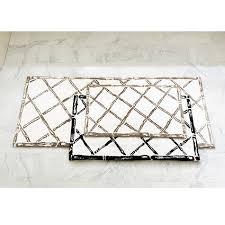 bamboo trellis bath mat ballard designs