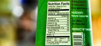coconut oil generally has no unhealthy