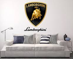 Wall Stickers Murals Lamborghini Wall Decal Sport Car Home Decor Art Sticker Vinyl Wall Stickers Wall Murals Wall Stickers Wall Murals