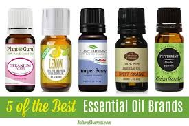 5 of the best essential oil brands to