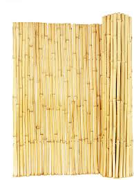 Amazon Com Backyard X Scapes Natural Rolled Bamboo Fence 75in D X 4ft H X 8ft L Garden Outdoor