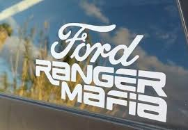 Ford Ranger Mafia Vinyl Decal Sticker 5 50 Picclick