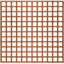 Total Sheds 6x6 1 83m X 1 83m 6ft X 6ft Wooden Square Trellis Fence Panels Amazon Co Uk Garden Outdoors