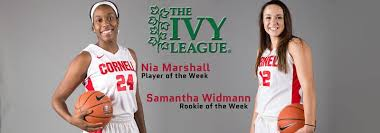 Marshall & Widmann Sweep Ivy Women's Basketball Weekly Honors - Cornell  University Athletics