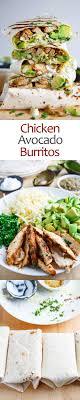 Chicken and Avocado Burritos | Recipe | Meals, Recipes, Healthy recipes
