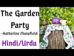 the garden party summary by katherine