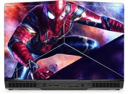 Gadgets Wrap Printed Iron Spider Spiderman Skin For Alienware 15 R3 Laptop Top Only Vinyl Laptop Decal 15 6 Price In India Buy Gadgets Wrap Printed Iron Spider Spiderman Skin For Alienware