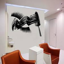 Eyelash Decals Wall Decal Window Sticker Beauty Salon Woman Etsy