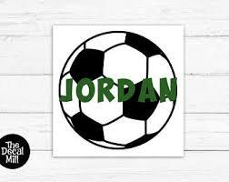 Soccer Yeti Decal Etsy