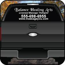 Massage Therapy Signs Banners Car Magnets And More