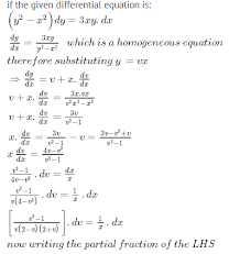 solve the diffeial equation y2