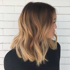 Full Hair Painting Balayage And A Blunt Long Bob For This Beauty