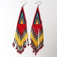 chandelier earrings south african zulu