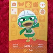 Animal Crossing Amiibo Cards Scoot ...