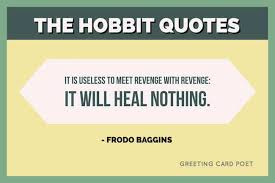 the hobbit quotes from j r r tolkien greeting card poet
