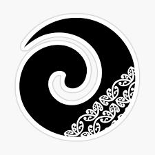Koru Maori Symbol Stickers Redbubble