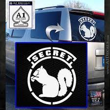 Secret Squirrel D2 Decal Sticker A1 Decals