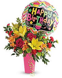 birthday bash bouquet in decorah ia
