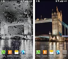 rainy london live wallpaper apk