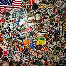 200 Mixture Cool Cute Stickers Skateboard Vinyl Sticker Laptop Luggage Car Decal For Sale Online Ebay