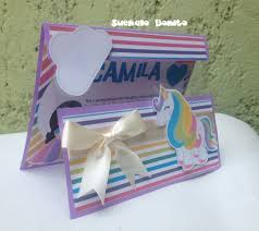 Invitaciones Unicornios Con Ventana Cumpleanos Infantil 430 00