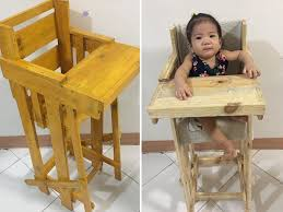 diy high chairs made by titos for their