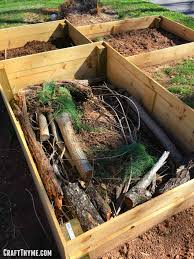 How To Build A Hugelkultur Raised Bed And Why You Should The Reaganskopp Homestead