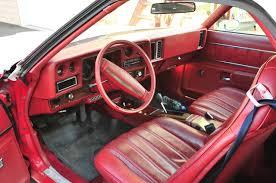 1977 chevrolet el camino interior