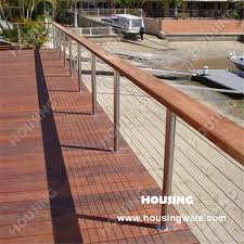 Outdoor Good Wire Railing Stainless Steel 304 316 Tension Wire Railing Railing Staircase Railing Postrailing Software Aliexpress