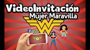 Invitacion Animada En Video Para Mandar Por Whatsapp De La Mujer