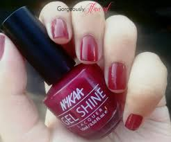 review swatches nykaa salon shine