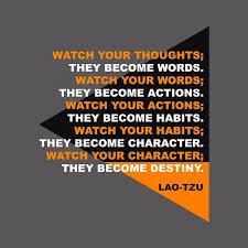 spektrum hitam putih laotzu quotes thought destiny