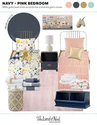 Girl S Shared Bedroom Crate Kids Blog