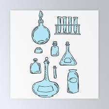 apothecary glass jars ilration mini