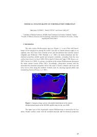 chemical oceanography of northeastern