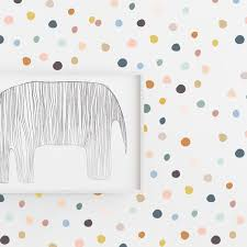 Wall Decal Colors On Colors Tiny Drawn Dots Wall Sticker Etsy