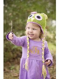 Dress Up Dreams Boutique - Little Girls Adeline Green Lavendert Crochet Owl  Tassels Hat 0 M - 4 Years - Walmart.com
