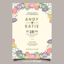 fl wedding invitation card template
