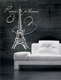 Eiffel Tower Paris Vinyl Wall Decals Art Stickers No 007 16 99 Via Etsy Vinyl Wall Decals Wall Decals Decal Wall Art