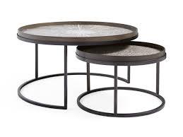 nesting coffee table arhaus furniture