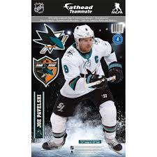 Fathead Nhl Teammate San Jose Sharks Joe Pavelski Wall Decal Pure Hockey Equipment