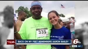 Back on my Feet group remembers Aaron Bailey - YouTube