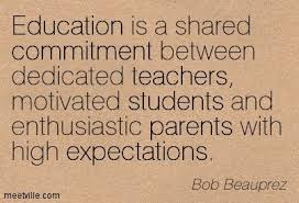 education quotes for parents commitment quotes