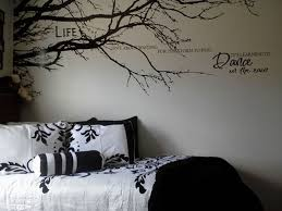 1pcs To Left Side Black Tree Top Branches Wall Stickers Diy Removable Mural Wall Decal Living Room Sofa Wall Decals Living Room Vinyl Wall Decals Wall Decals