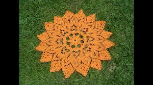 o tejer centro de mesa a crochet