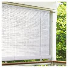 roll up blind white pvc 36 x 72 in