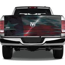 Painted Metal Texture Texas Flag Digital Usa America Distressed Grunge Tattoo Graphic Wrap Tailgate Vinyl Decal Truck Pickup Suv