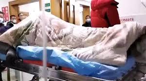 Corona virüs ile ilgili dehşete düşüren görüntü! Hastanın kriz ...