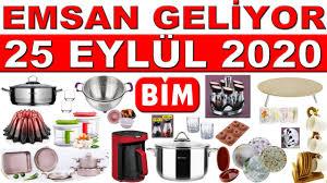Bim 25 Eylül 2020 Emsan Kataloğu | Bim Müthiş Mutfak Ürünleri | Bim İndirim  | Bim 25 Eylül Aktüel - YouTube