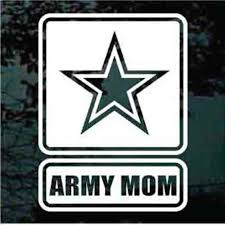 Army Mom I Raised My Hero Car Window Decals Stickers Decal Junky